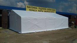 Шатер, ангар, палатка 8х10х2 winter plus 560 г/м2 тент