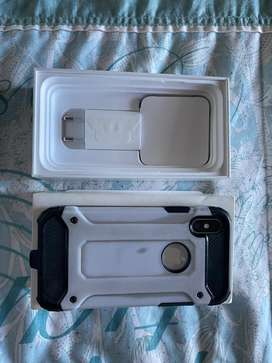 Iphone x with accessories 265GB