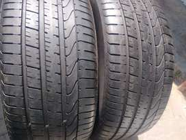 Two seconds hand tyres sizes 285/45/21 pirelli normal now available