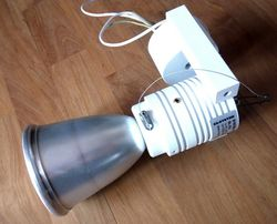 Lampa metalowo- halogenowa farba proszkowa aluminium biała kilka sztuk
