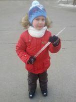 Продам зимний костюм.Куртка и комбинезон фирма Бемби. 6-7 лет.