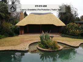 Lapa Thatch Roof Fire Proof