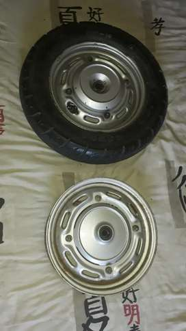 2 x Scooter 10 inch rims