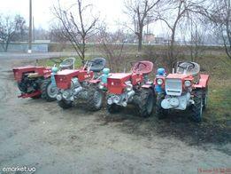 Ремонт мини трактора TZ4k-14