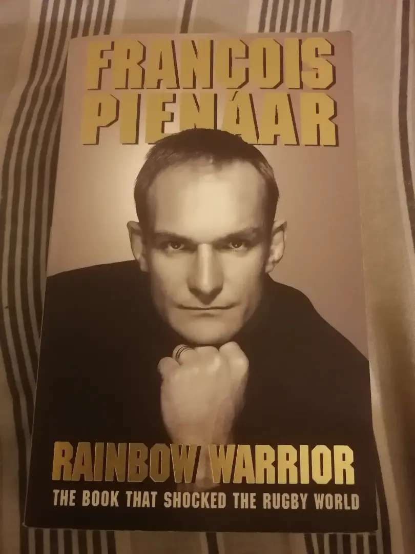 Francois Pienaar first paperback edition 0