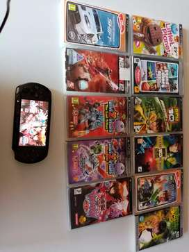 Psp with 10 games and 1 movie willing to trade for Xbox 360 or ps3