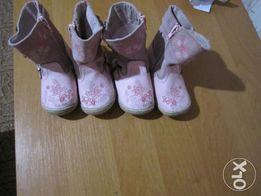 Сапоги деми. Обувь для двойни.