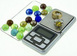 Карманные ювелирные электронные весы 0,1-500 гр 200гр 100гр