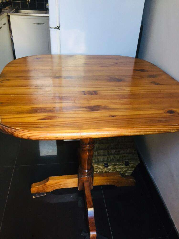 Wooden table 0