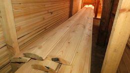 Продаєм дерев'яний фальшбрус-блок-хаус,імітація бруса