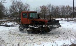 Бульдозер Дт-75 Харьков. Аренда. Услуга.