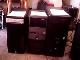 Dual Core towers and systems Windows 7