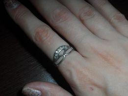 Кольцо серебро 925п