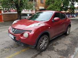 Nissan Juke Acenta+ Year Model :2014 Engine :1.2ltr Mileage :98000km
