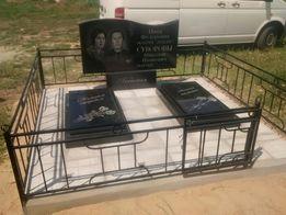 Установка памятников на Западном кладбище