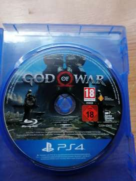 PS4 GAME: GOD OF WAR, price negotiable