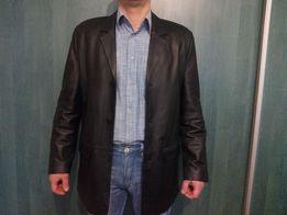 Пиджак мужской, кожа