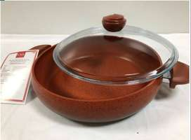 OMS Belly Shaped Pot 30cm - Red
