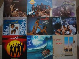 пластинка La Bionda/Boney M/FR David/Sandra/A-HA/Luv/Pupo/Ricchi-Powe