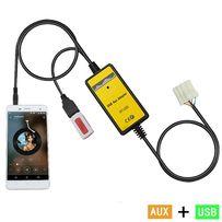 USB AUX MP3 адаптер для MAZDA Мазда