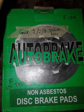 VW GOLF 1 NEW BRAKE PADS FOR SALE