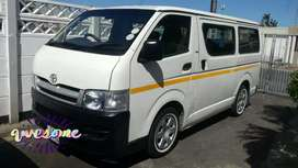 Toyota Quantum fitted with 2C Turbo Diesel engine fuel saver R75000