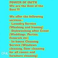 Image of We provide Dishwashing service after every occasion