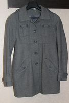 Пальто серое H&M р.34 можно подростку
