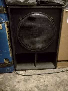 18 inch Bass bin with 1000w driver