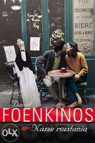 książka Nasze rozstania David Foenkinos