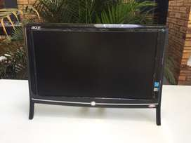 ACER MONITOR WITH BUILT IN HARD DRIVE