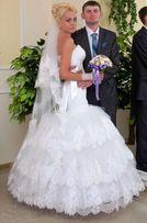 Свадебное платье силуэт Годэ рыбка