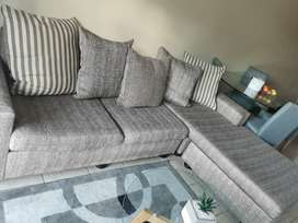 L-Shaped Couch for sale