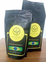 100% Арабика. Свежеобжареный кофе в зёрнах Бразилия Сантос