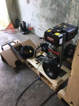 Karcher diesel powered high pressure washer