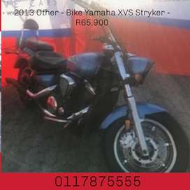 2013 Other - Bike Yamaha XVS Stryker - R65,900