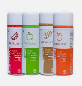 Low Oxygen Levels? Try our 95% Oxygen in a can, OXYBURST!