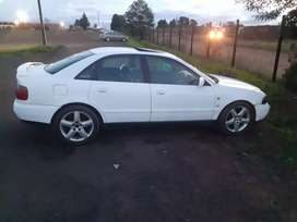 Audi a4 start and go