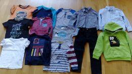 Ubranka dla chłopca 110 cm