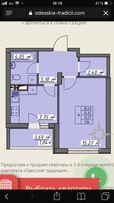 Продам 1 комнатную квартиру жк Одесские традиции с ремонтом
