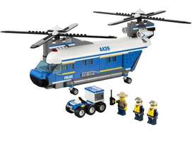 Lego heavy lift helicopter 4439