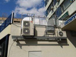 Установка кондиционеров, монтаж вентиляции.