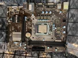 MSI Motherboard and I5 6400 Processor