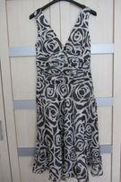 Sukienka Zara jedwab r. S/M