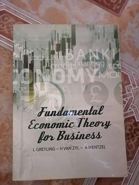Fundamental economic theory for business 2nd edition