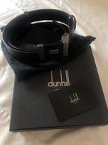 Кожаный мужской ремень Dunhill