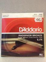 NOWE struny do mandoli D'Addario EJ76 15-52
