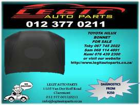 Legit Auto Parts we are Currently  Selling  TOYOTA HILUX BONNET
