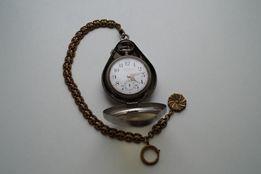 Часы швейцарские карманные Chemin de fer Revue Swiss made Раритет