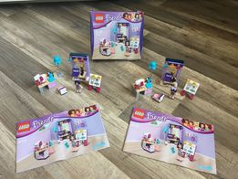 Zestawy zestaw Lego Friends Kreatywny warsztat Emmy 41115 klocki lalka